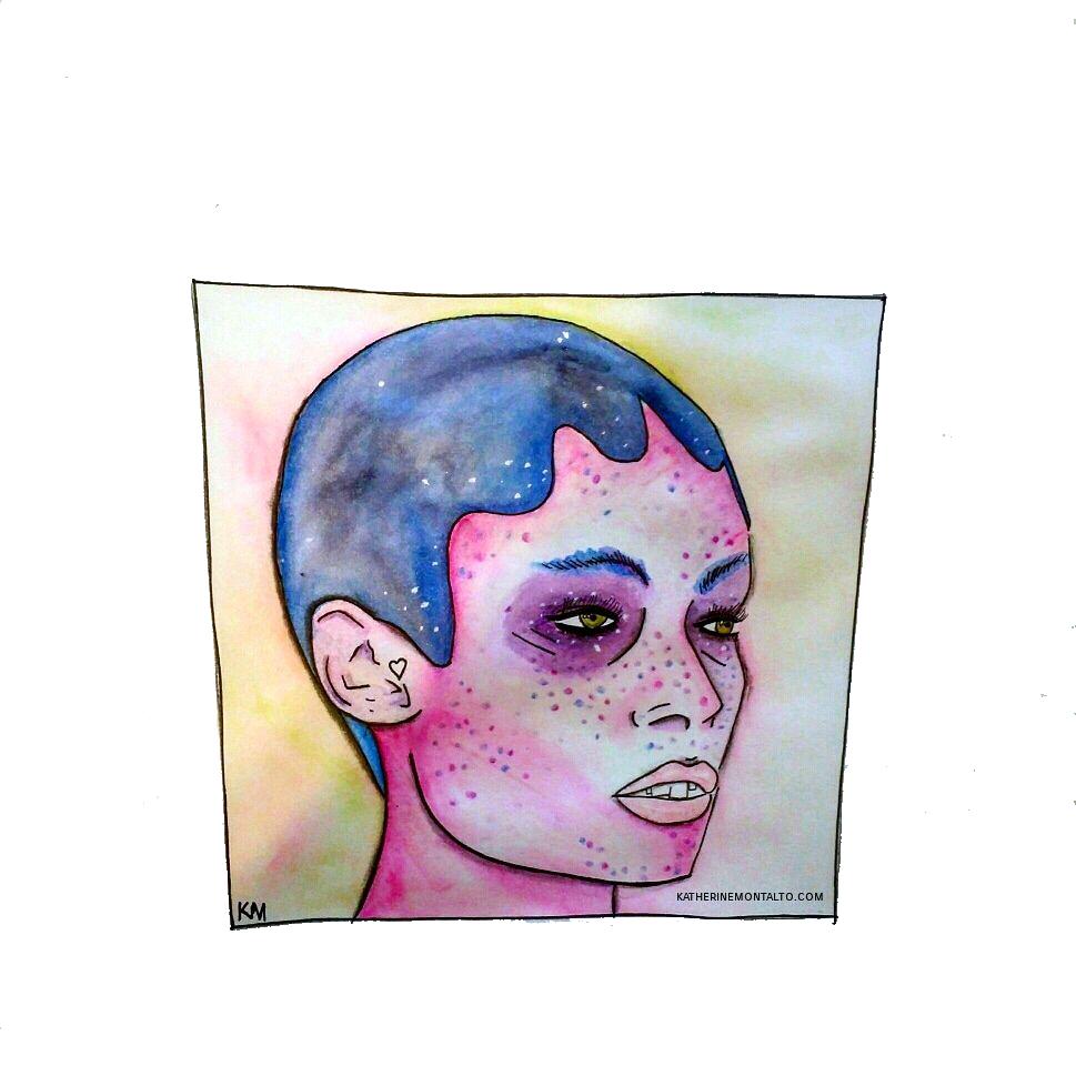 Watercolor Clara