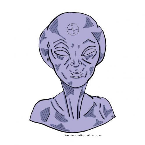 alien in color