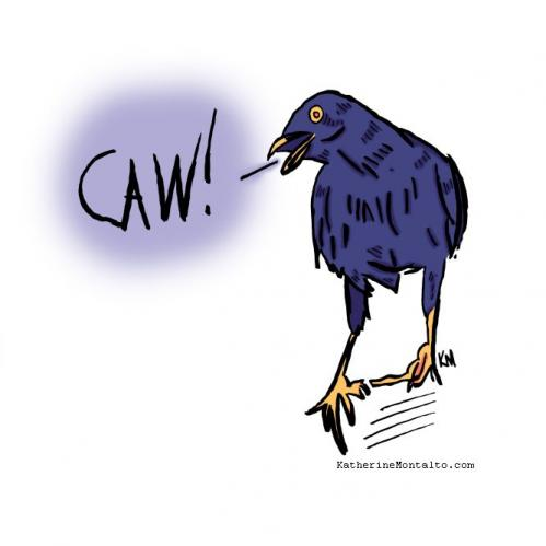 caw in color