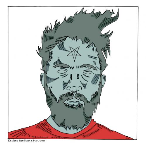 pentagram guy in color