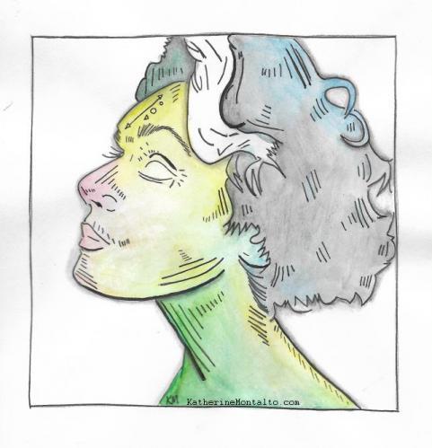 2019 04 04 line art elsa watercolor
