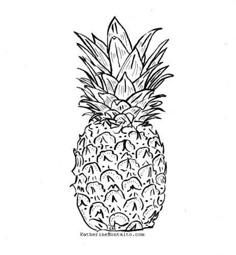 2020 01 16 pineapple BW