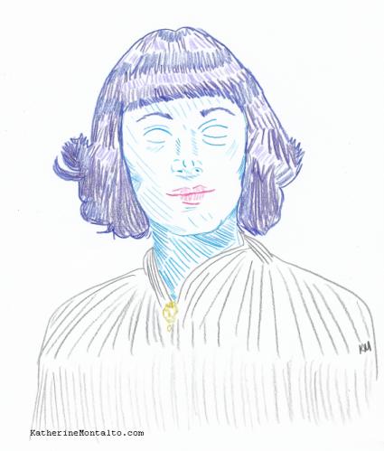 2020 05 07 Portrait in Color Ursula