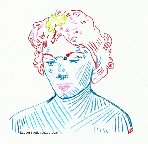 2020 05 18 portrait Charlotte in Color