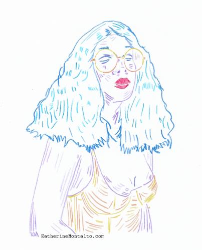 2020 05 21 portrait Lynn in Color