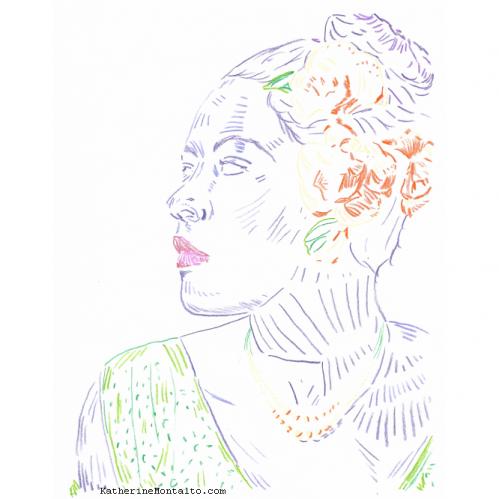 2021 01 color pencil portrait 02