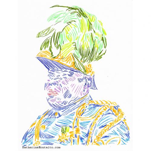 2021 01 color pencil portrait 06