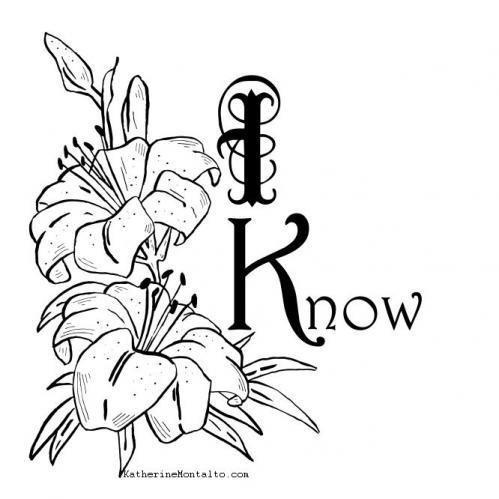I know flowers